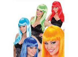 Parrucche, Barba, Baffi, Accessori & Colori per Capelli